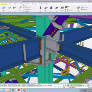 Tekla - Steel Structure and Civil Structure modelling